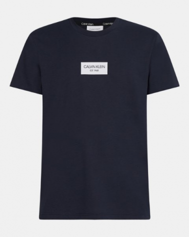 T-SHIRT CALVIN KLEIN CHEST BOX LOGO
