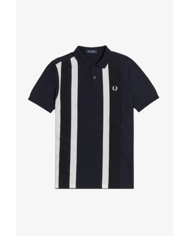 POLO FRED PERRY STRIPED PIQUE