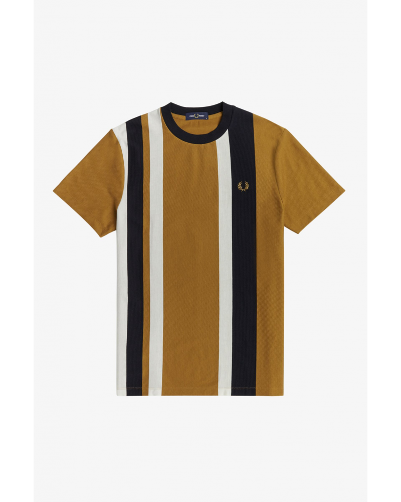 T SHIRT FRED PERRY STRIPED PIQUE