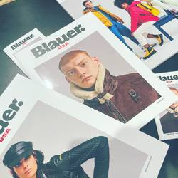 Blauer jackets in store. Collection Fall/Winter 2021-22  #Blauer