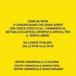 ✅OPEN✅ 📍Centro commerciale Le Colonne 📍Centro commerciale Mongolfiera 📍Centro commerciale Conad Mesagne